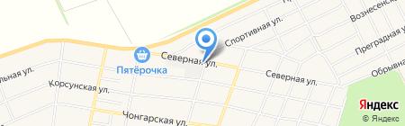 Аквариус на карте Краснодара