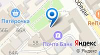 Компания Лазаревский почтамт на карте