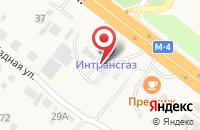 Схема проезда до компании АГЗС в Нечаевке