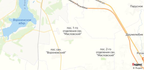 отд.№1 Масловский совхоз на карте