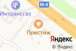 Схема проезда до компании Престиж в Нечаевке