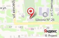 Схема проезда до компании Почтовое отделение связи в Украинском