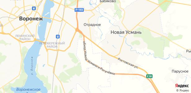 Нечаевка на карте