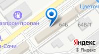 Компания Северлес на карте