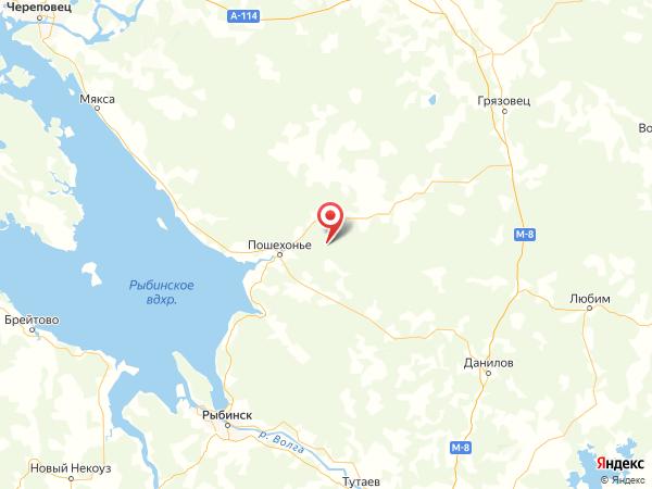 урочище Чулково на карте