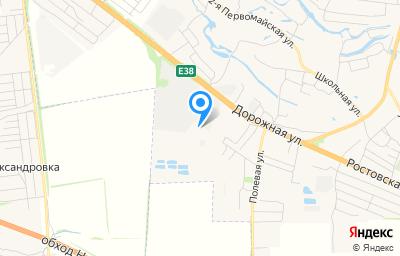 Местоположение на карте пункта техосмотра по адресу Воронежская обл, Новоусманский р-н, с Новая Усмань, ул Полевая, д 48А