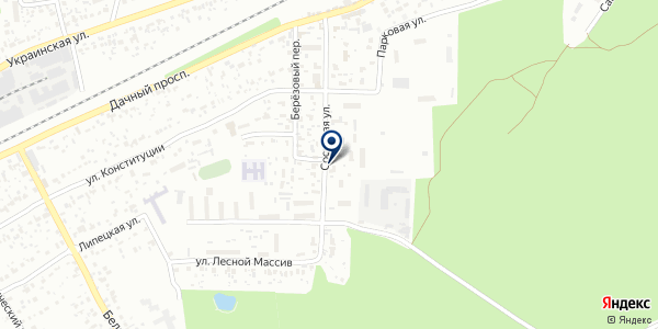 Сомовский детский санаторий для больных туберкулезом на карте Воронеже