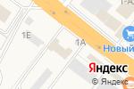 Схема проезда до компании Продуктовый магазин в Новой Усмани