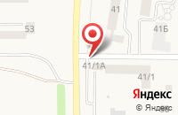 Схема проезда до компании Автостоянка в Нечаевке