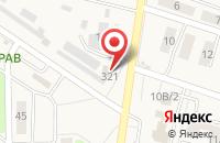 Схема проезда до компании Южная ночь в Нечаевке