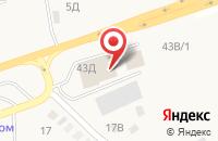 Схема проезда до компании Три двери в Бабяково