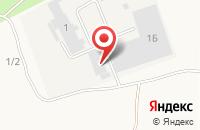 Схема проезда до компании Блеск в Бабяково