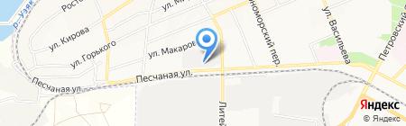 Атлантис-Рос на карте Азова