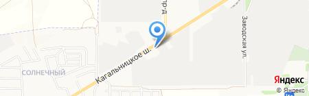 Гранит на карте Азова