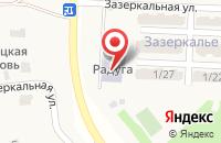 Схема проезда до компании Радуга в Бабяково