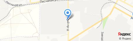 Азовский завод КПА на карте Азова