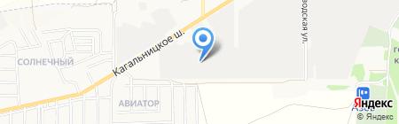 Азовская кондитерская фабрика на карте Азова