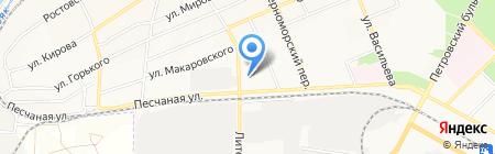 Евромастер на карте Азова