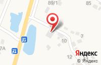 Схема проезда до компании ГарантСтройДом в Нечаевке