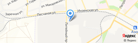 АзовСтройКомплект на карте Азова