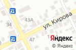 Схема проезда до компании Афины в Азове