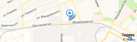 Люксор на карте Азова