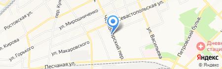 Донская Аптека+ на карте Азова