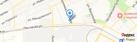 Лидер на карте Азова