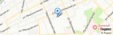 Продуктовый магазин на ул. Макаровского на карте Азова