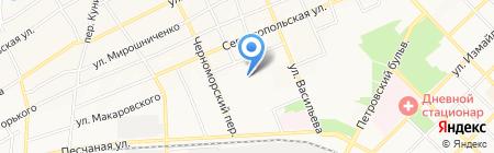 Флагман на карте Азова