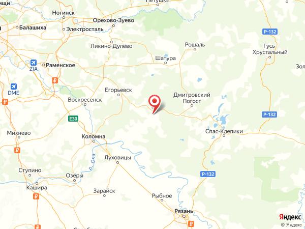 СНТ Гоша на карте
