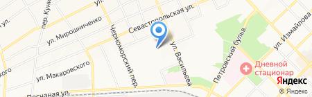 Детский сад №19 Ивушка на карте Азова