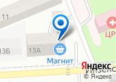 Строящийся жилой дом по ул. Инзенская (г. Азов) на карте