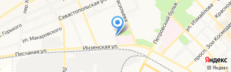 Управление по делам ГО и ЧС г. Азова на карте Азова