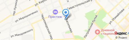 Колосок на карте Азова