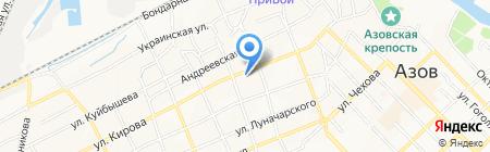 Олимп на карте Азова