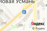 Схема проезда до компании Мебелькоопторг в Новой Усмани
