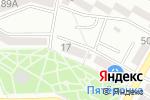 Схема проезда до компании Жемчужина в Азове