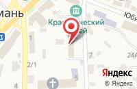 Схема проезда до компании Управление социальной защиты населения Воронежской области в Новой Усмани