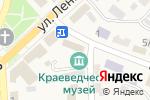 Схема проезда до компании Новоусманская Нива в Новой Усмани