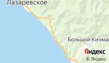 Гостиницы города Каткова Щель на карте