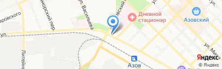 Связной на карте Азова