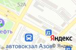 Схема проезда до компании Лидер в Азове