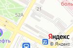 Схема проезда до компании Благо в Азове