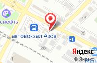 Схема проезда до компании SUHO в Азове
