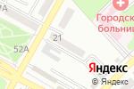 Схема проезда до компании Магазин канцтоваров в Азове