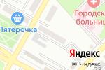 Схема проезда до компании Польза в Азове