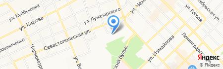 Детский сад №20 Журавлик на карте Азова