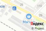 Схема проезда до компании АзовПечать в Азове
