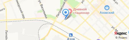 Газпром межрегионгаз Ростов-на-Дону на карте Азова